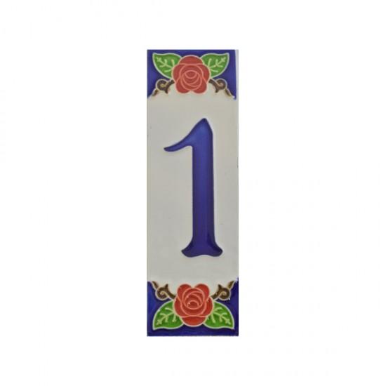 Ceramic number 1