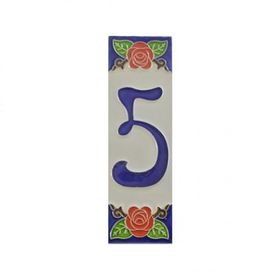 Ceramic number 5