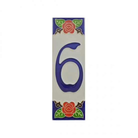 Ceramic number 6