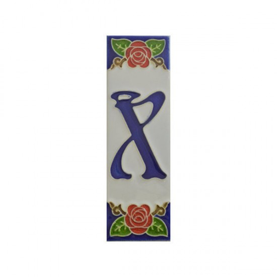 Ceramic letter X