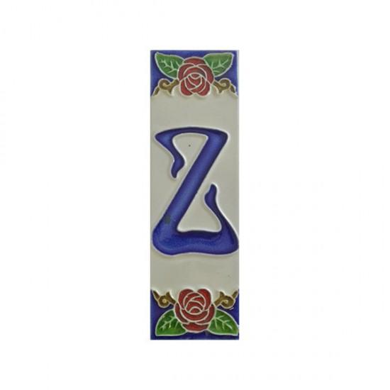 Ceramic letter Z