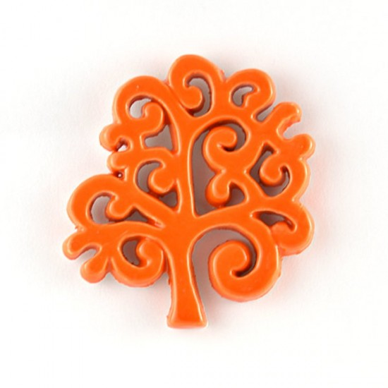 Tree of Life magnet cm7 orange