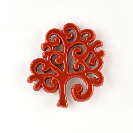 Tree of Life magnet cm7 red