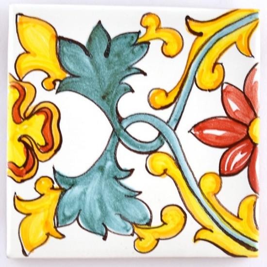 Ceramic Tile 10x10cm riggiola/cementina 10