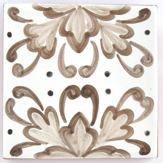 Ceramic Tile 10x10cm riggiola/cementina 26