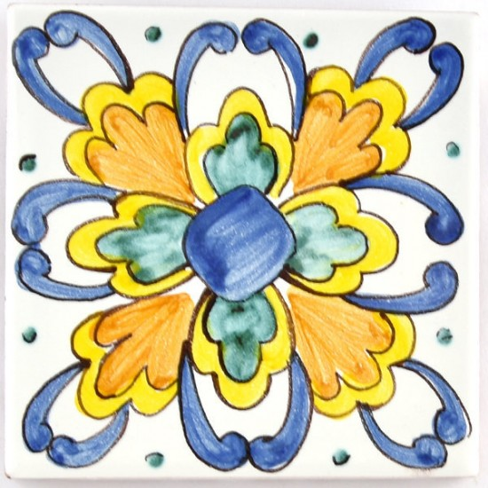Ceramic Tile 10x10cm riggiola/cementina 32