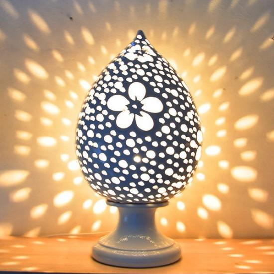 Pigna Pumo lamp 50cm holes flower