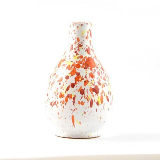 Ceramic oil cruet 100ml orange yellow