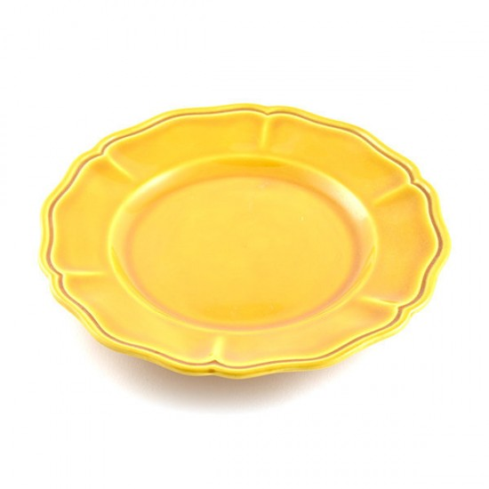 Honey baccellato fruit plate Ø21cm