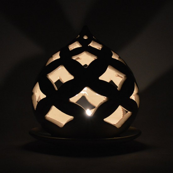 Pumo candle holder 13cm