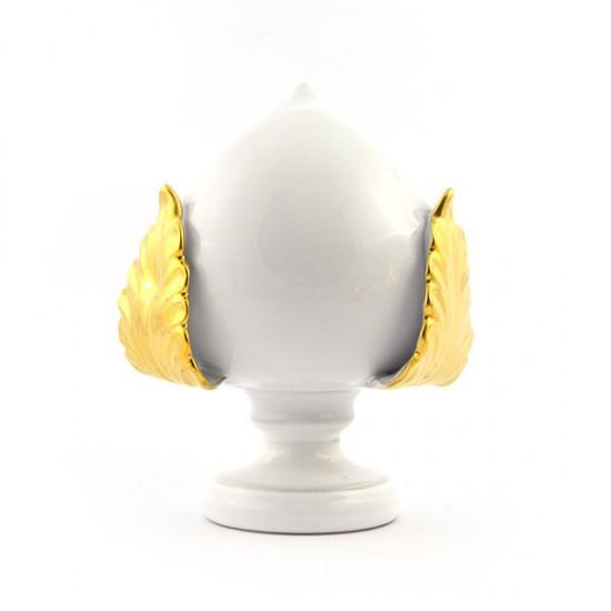 White gold pumo pinecone 14cm