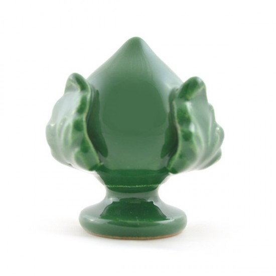 Dark green pumo pinecone 5cm