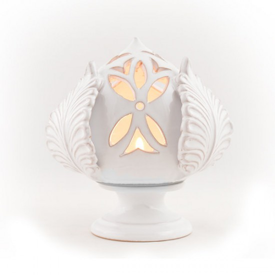 Pumo candle holder 12cm leaves