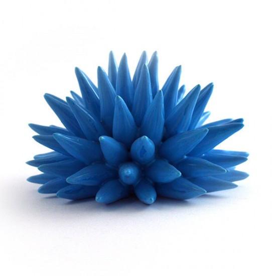 Polignano turquoise urchin Ø9cm