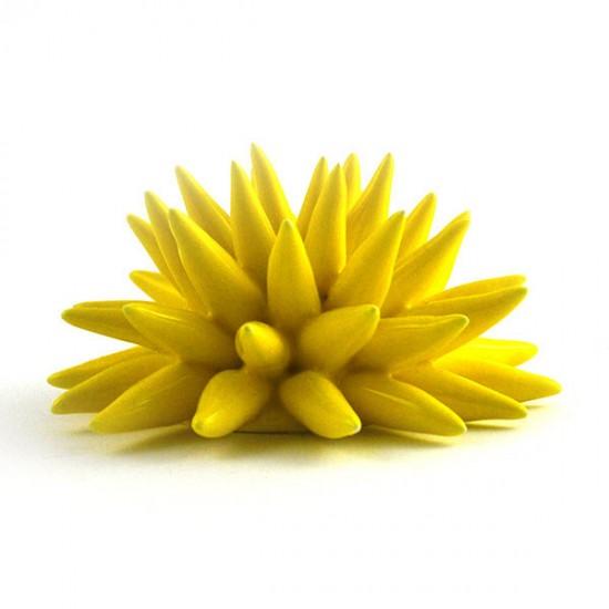 Martina yellow urchin Ø14cm