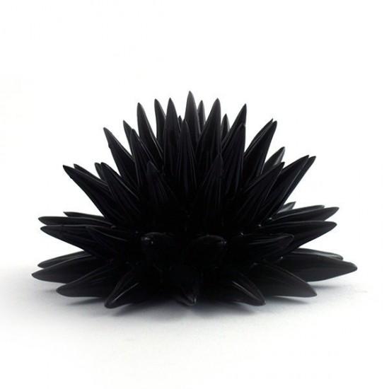Fasano black urchin Ø14cm