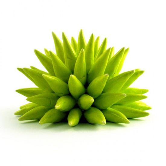 Acid green urchin Ø14cm