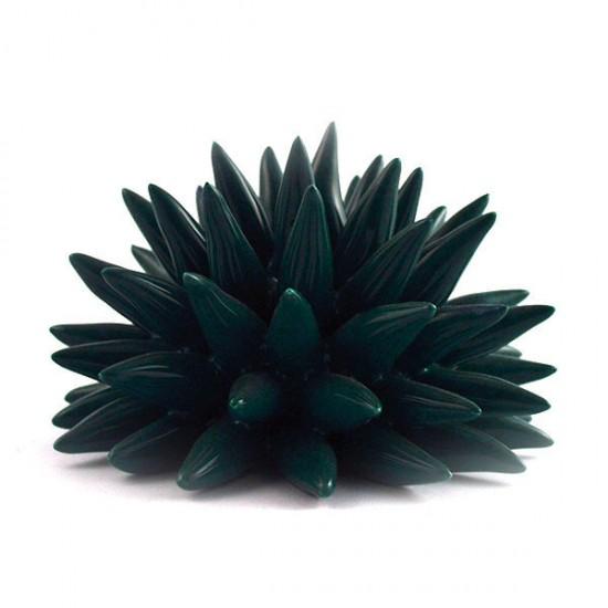 Dark green urchin Ø14cm