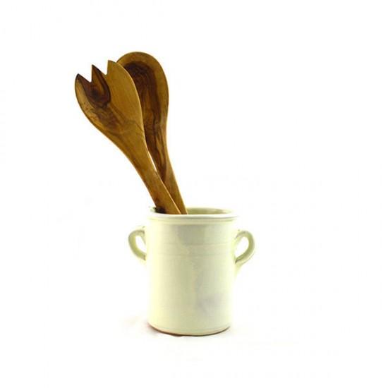 Grottaglie Ivory small ladle jar