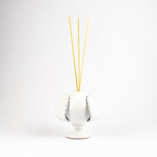 Ostuni white diffuser pumo pinecone 14cm