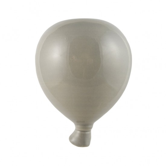 Gray ceramic balloon 12cm