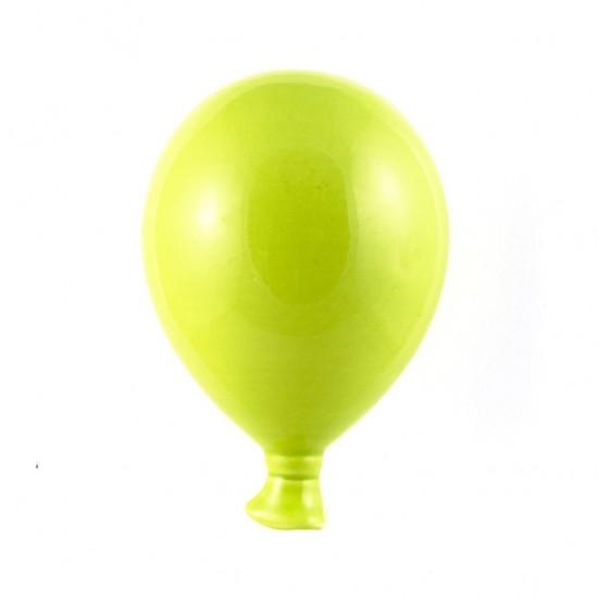 Acid green ceramic balloon 20cm