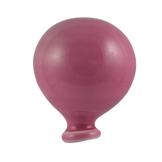Fucsia magnetized ceramic balloon