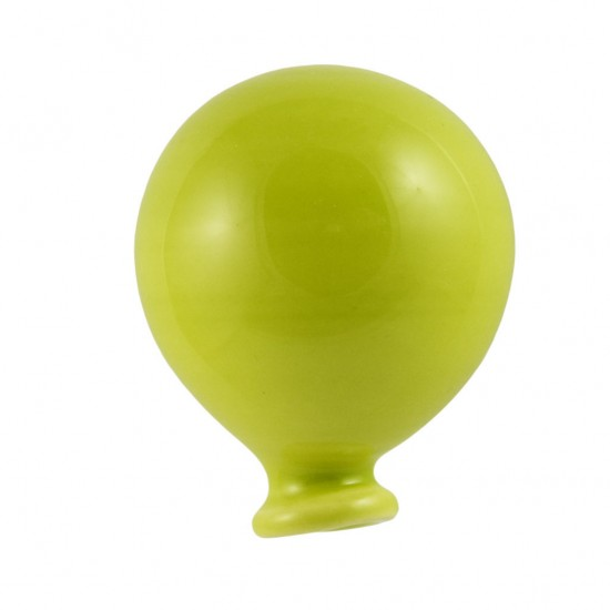 Acid green magnetized ceramic balloon
