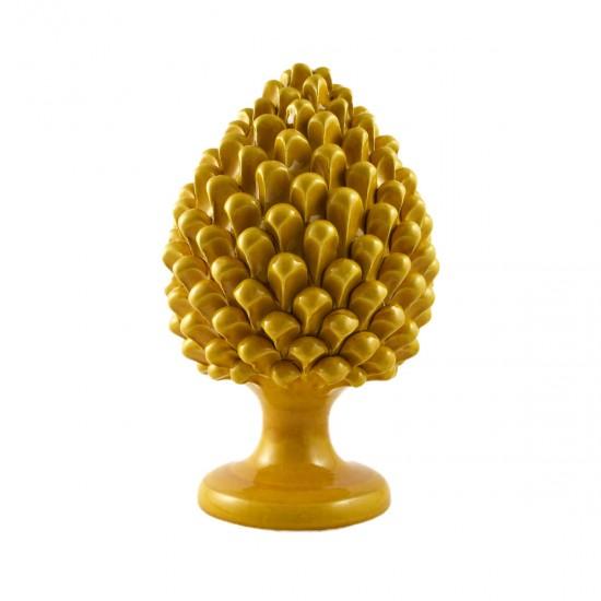 Cisternino honey ceramic pine cone