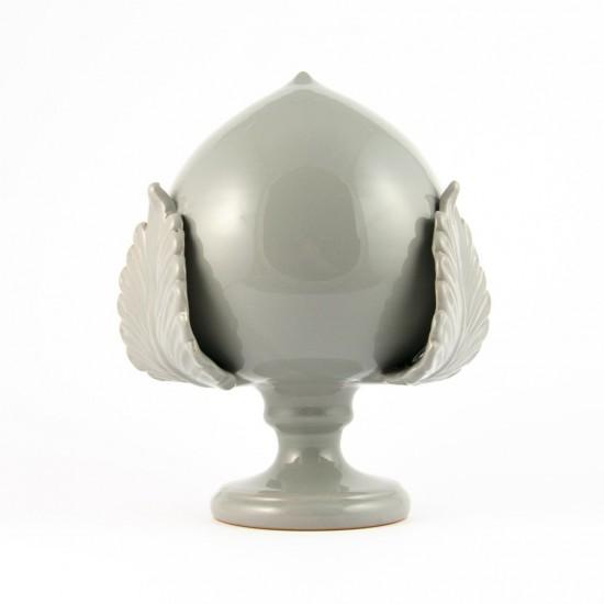 Gray pumo pinecone 35cm