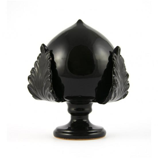 Fasano black pumo pinecone 17cm