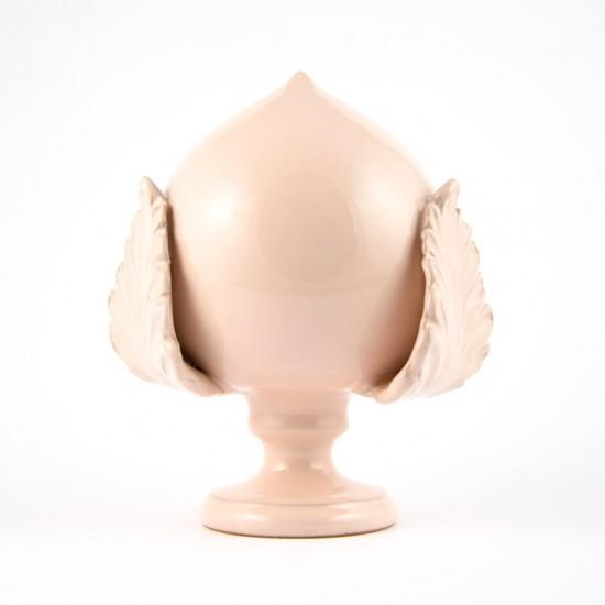 Powder pink pumo pinecone 17cm